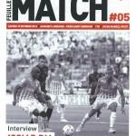 Feuille de match saison 2016-2017 Journée n°05 Paris