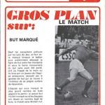 Programme saison 1973 1974 Nancy Saint Etienne 16-04-74