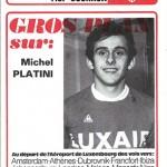 Programme saison 1975 1976 Nancy Sochaux 21-12-75