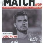 Feuille de match saison 2016-2017 Journée n°09 Angers