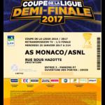 Contre marque retransmission écran géant Monaco-Nancy - Saison 2017-2018 - Demi-finale Coupe de la Ligue (25-01-17)