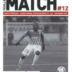 Feuille de match saison 2016-2017 Journée n°12 Montpellier