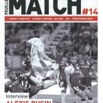Feuille de match saison 2016-2017 Journée n°14 Lille