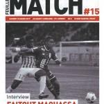 Feuille de match saison 2016-2017 Journée n°15 Lorient