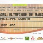 Billet Nancy Rennes Saison 2016-2017 L1 34ej 21-04-2017