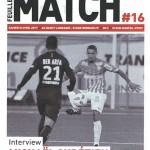 Feuille de match saison 2016-2017 Journée n°16 Rennes