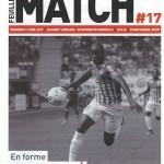 Feuille de match saison 2016-2017 Journée n°17 Marseille