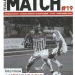 Feuille de match saison 2016-2017 Journée n°19 St Etienne
