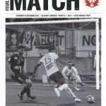 Programme Nancy Paris FC 15 12 2017 10eme journée