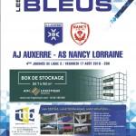 Programme Auxerre Nancy  17 08 2018 4eme journée